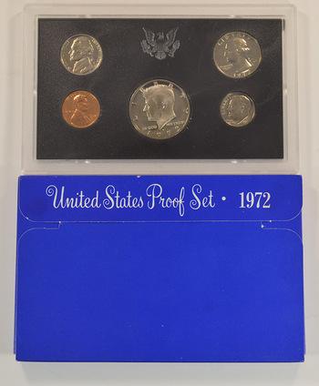 1972-S U.S. Proof Set