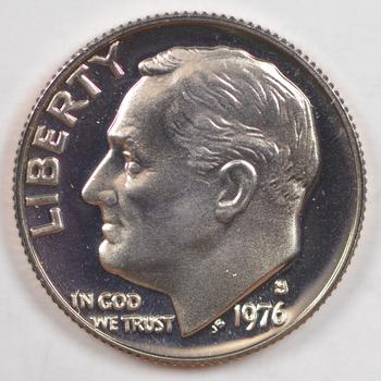 1976-S PROOF Roosevelt Dime - San Francisco Minted