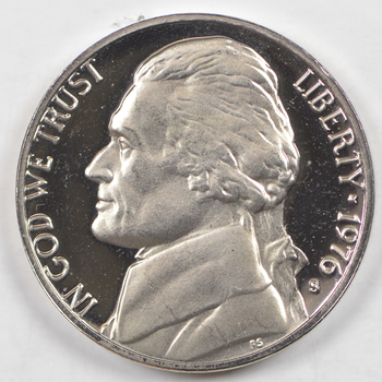 1976-S San Francisco Minted PROOF Jefferson Nickel