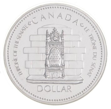1977 Canada BEAUTIFUL Silver Dollar Coin .500 Silver 50%