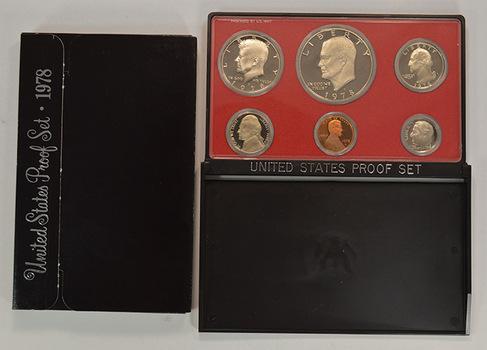 1978-S Cameo Proof Set with Last Eisenhower Dollar
