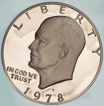 1978-S Eisenhower Deep Cameo Dollar Proof