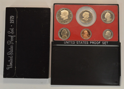 1979-S Cameo Proof Set with First SBA Dollar