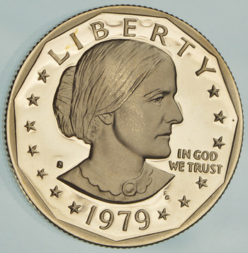 1979-S Deep Cameo Proof Susan B Anthony Dollar