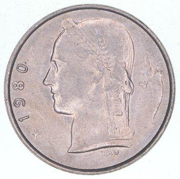 1980 Belgium 1 Franc