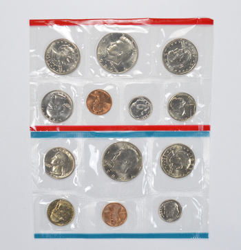 1980 United States Mint Uncirculated Coin Sets