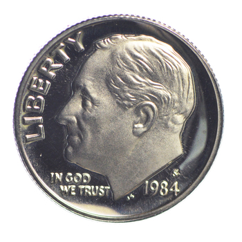 1984-S PROOF Roosevelt Dime - San Francisco Minted