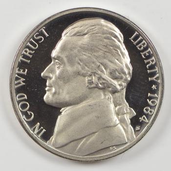 1984-S San Francisco Minted PROOF Jefferson Nickel
