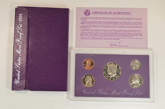 1991-S Deep Cameo U.S. Proof Set