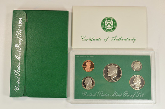 1994-S Deep Cameo Proof Set - From Scarce Green Box Series