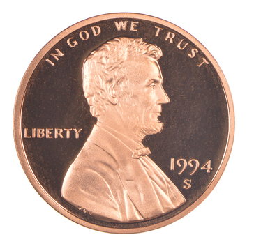 1994-S Proof CAMEO - Lincoln Memorial Cent - San Francisco Minted