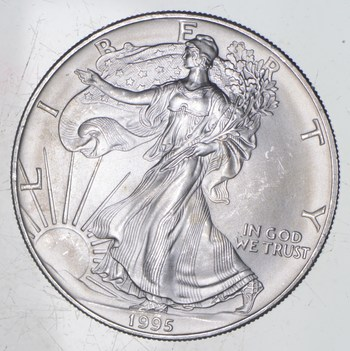 1995 American Silver Eagle - Charles Coin Collection