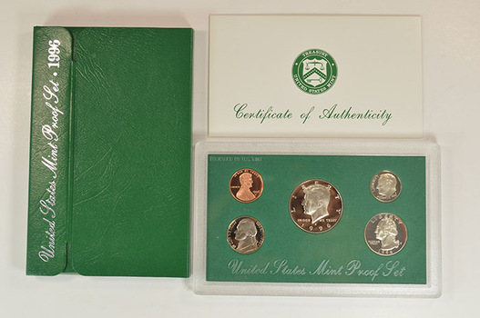 1996-S Deep Cameo Proof Set - Lowest Proof Set Mintage of the 90s