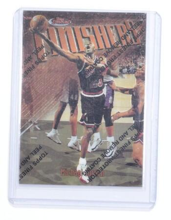 1997-98 Topps Finest Finishers Michael Jordan #39 F1