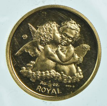 1998 Gibraltar 1 Royal - 1/10 Oz. World Gold Coin