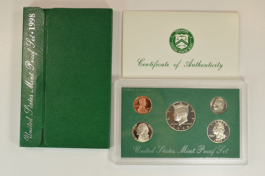 1998-S Deep Cameo Proof Set