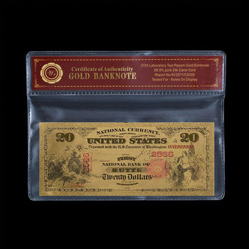 $20.00 First National Bank of Butte - National Currency - Replica Bank Note