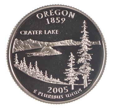 2005-S Oregon State Washington Quarter - Proof Cameo