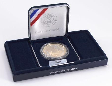 "2006 Benjamin Franklin ""Founding Father""Proof CommemorativeSilver Dollar w/ Box & COA"