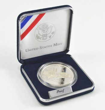 2006 San Francisco Old Mint Commemorative Proof Silver Dollar w/ Box & COA