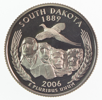 2006-S South Dakota State Washington Quarter - Proof Cameo