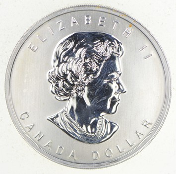 2012 Canada $1 War Of 1812 .9999 Silver 3/4 Troy Oz. BU Coin