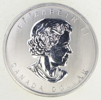 2012 Canada $1 War Of 1812 .9999 Silver 3/4 Troy Oz. BU Coin