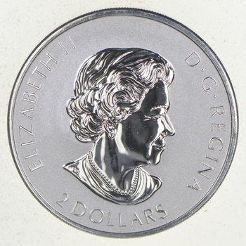 2017 Canada $2 Big Horn Sheep 3/4oz reverse proof Silver Coin