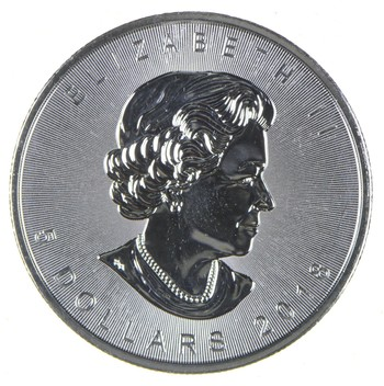 2018 - Canada $5 Dollars - Maple Leaf - 1 Troy Oz .9999 Fine Silver - Highly Collectible