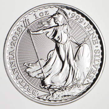 2018 - Great BritainBritannia - 2 Pounds - 1 Troy Oz .999 Fine Silver - Highly Collectible Coin