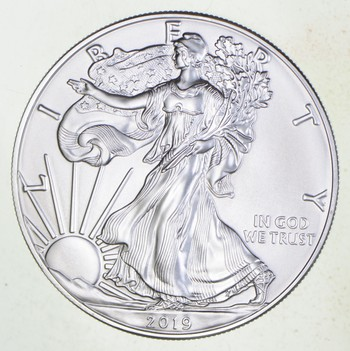 2019 - American Silver Eagle - 1 Troy Oz .9999 Fine Silver - Highly Collectible Coin