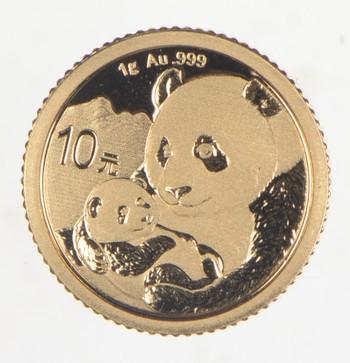 2019 China 10 Yuan Gold Bullion