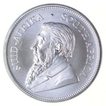 2019 - South Africa 1 Krugerrand - 1 Troy Oz .9999 Fine Silver - Highly Collectible Coin