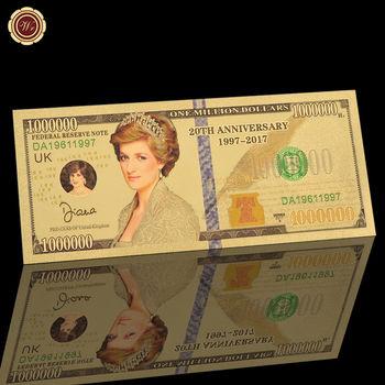 20th Anniversary Princess Diana Million Dollar Novelty Note