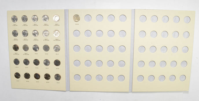 25 Coins - Set of 2004-2016 Roosevelt Dimes - US Collection Lot