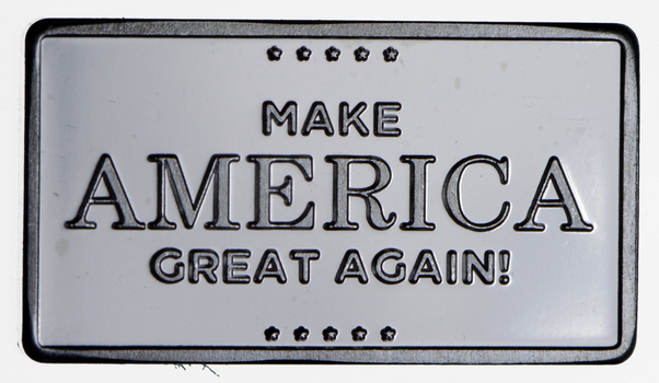 2.5 Gram .999 Fine Silver Bar - Make America Great Again - Only 300 Pcs Minted!