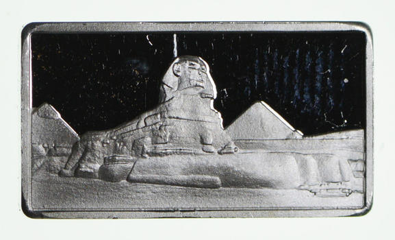 2.5 Gram .999 Fine Silver Bar -Sphinx- Only 300 Pcs Minted!