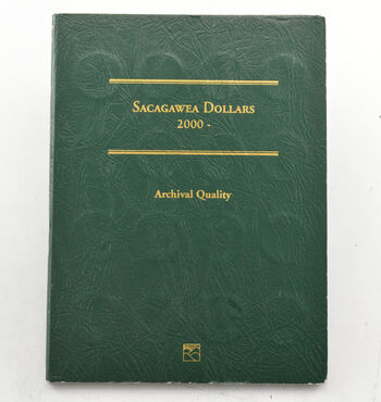 32 Coins Sacagawea Dollar Collection 2000-2015 - Album Set Complete