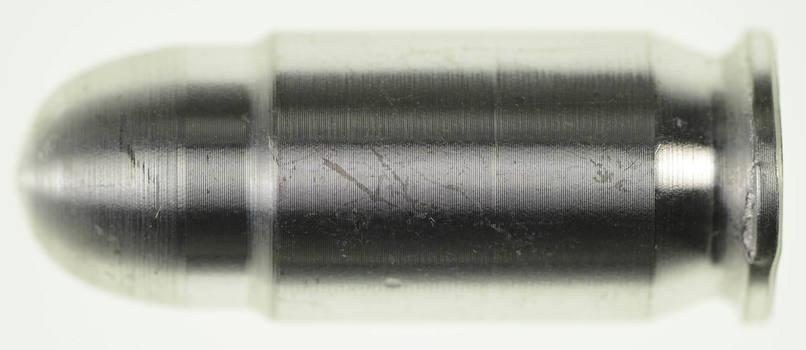.45 Caliber Colt Pistol Replica Silver Bullets - 1 Troy Oz. Pure .999 Fine Silver