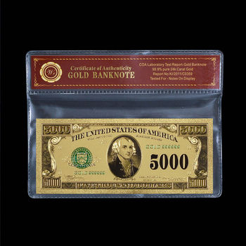 $5,000 United States - Beautiful - Replica Bank Note