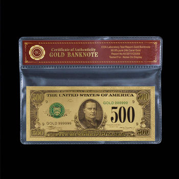$500.00 United States Bank - Replica Note