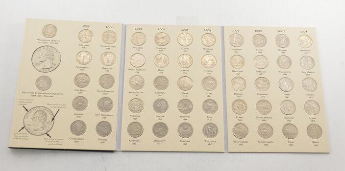 52 Coins Statehood 1999-2008 Washington Quarter Collection Set - Complete