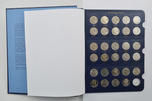 65 Coins - Jefferson Nickels 1994-2013 - Partial Set