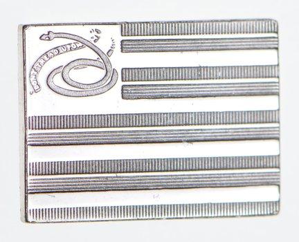 .925 Sterling Silver Newport Flag - Flag Series - 1.3 Grams