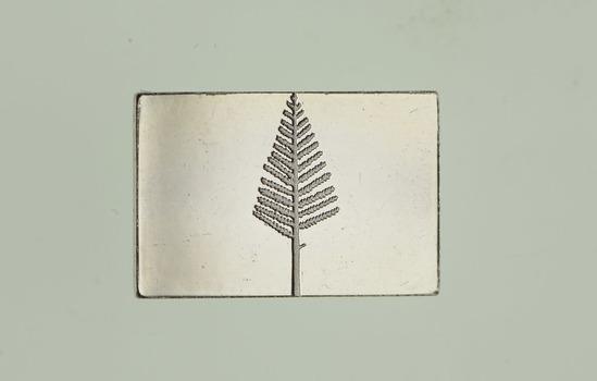 .925 Sterling Silver Pine Tree Flag - Flag Series - 1.7 Grams