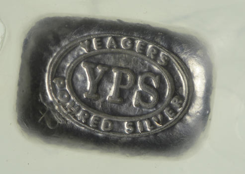 .999 Fine Sealed - Yeager Poured Silver .5 OZ. Silver Bar