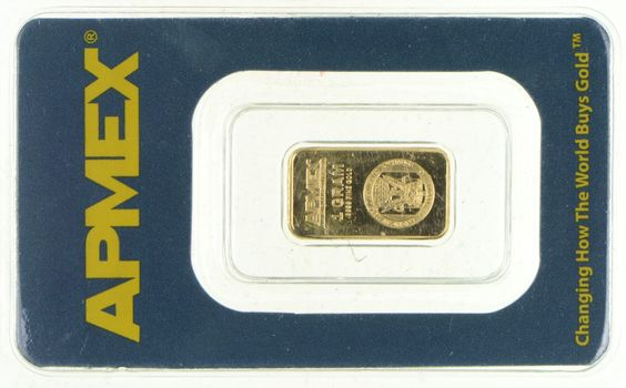 Apmex 1 Gram Gold Bar