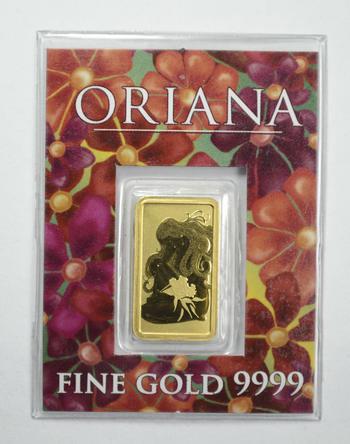 Australia 2 Grams Pure Gold Bar - With Original Packaging