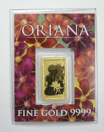 Australia 2 Grams Pure Gold Bar - With Original Packaging