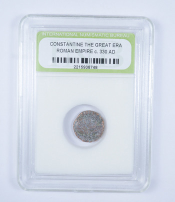 AUTHENTIC - Constantine The Great Era Roman Empire circ 330 AD - Historic Coin!